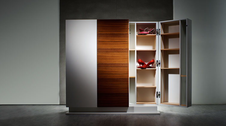 Gr001 Der Designer Schuhschrank Dachkomplett